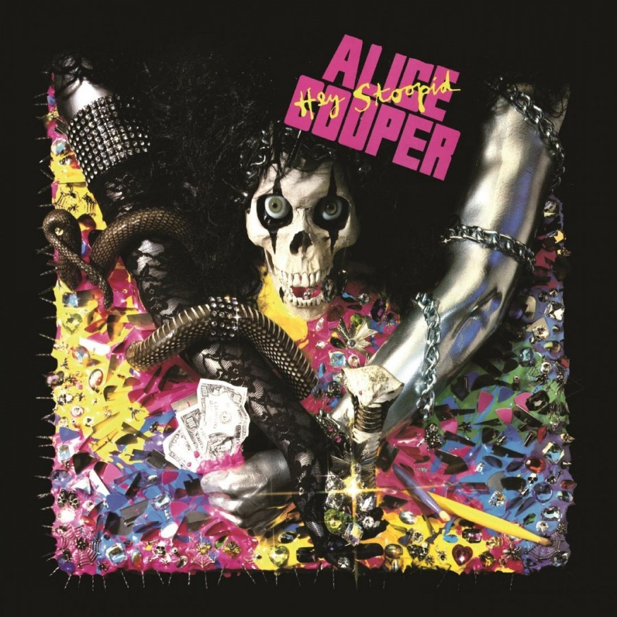 Hey Stoopid (LP) by Alice Cooper image