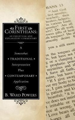 First Corinthians by B Ward Powers image