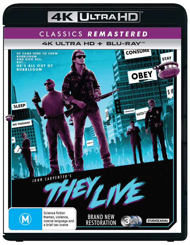 They Live on Blu-ray, UHD Blu-ray