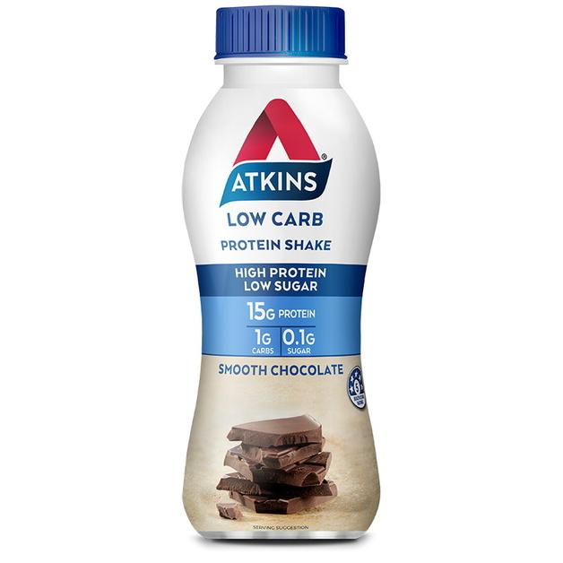 Atkins Low Carb Protein Shake - Chocolate (Single)