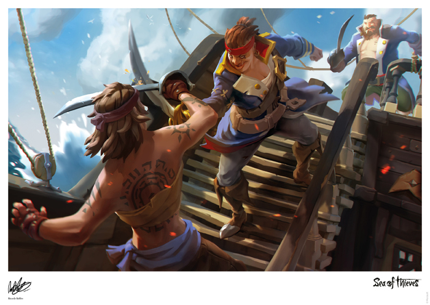Sea of Thieves - Premium Art Print - The Duel (Limited Edition)