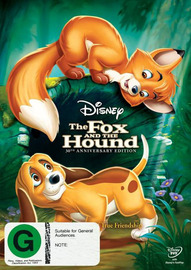 The Fox and the Hound - 30th Anniversary Edition on DVD