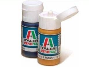 Italeri Acrylic Paint - Flat Medium Green (II) image