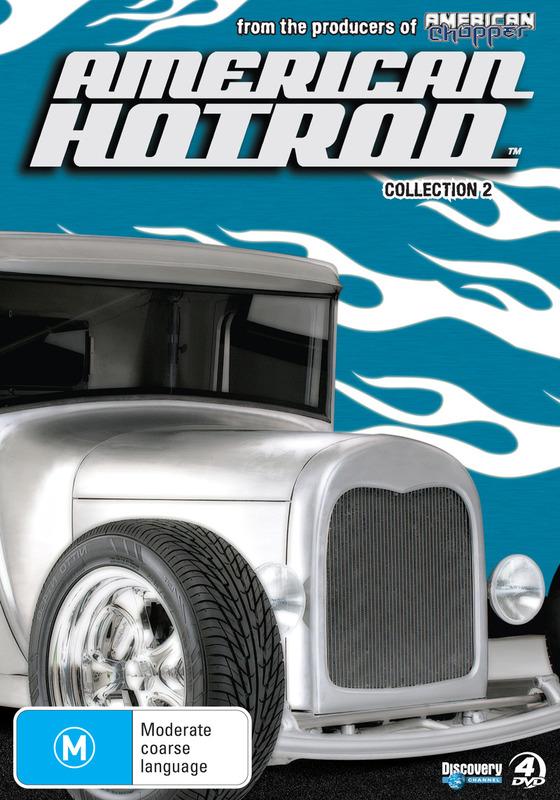 American Hot Rod - Season 2 (4 Disc Set) on DVD