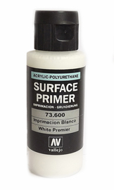 Vallejo Primer Acrylic White 60ml