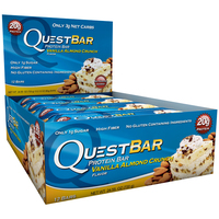 Quest Nutrition - Quest Bar Box of 12 (Vanilla Almond Crunch)