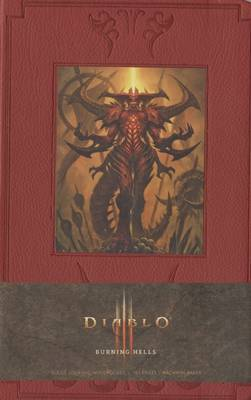 Diablo Burning Hells Ruled Journal (Large) by Blizzard Entertainment