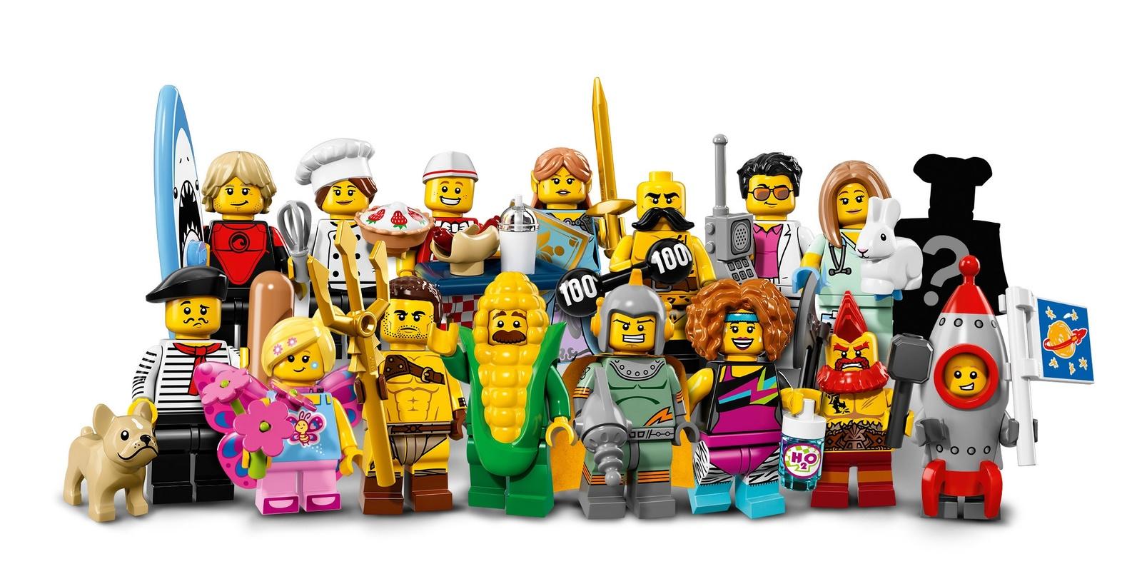 LEGO Minifigures Series 17 (71018) image