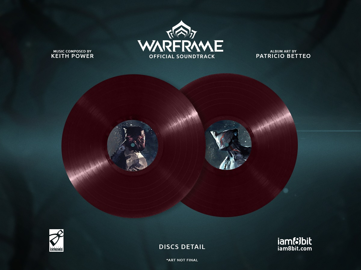 Warframe Soundtrack (2LP) by Keith Power image