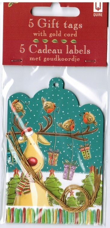 Quire: Rudolph/robins - Swing Tags (5-Pack)