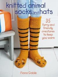 Knitted Animal Socks and Hats by Fiona Goble