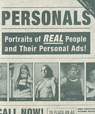 Personals: Potraits of Real People and Their Personal Ads by Michael Smith image