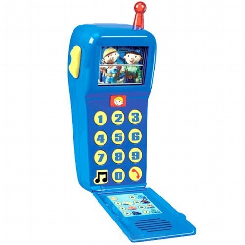 Bob the Builder: Bob's Talk & Play Electronic Camera Cell Phone
