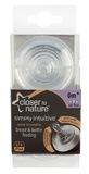Closer to Nature Vari Flow Easi-Vent Teat - 2 Pack