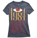 "Out Of Print Women's ""1984"" (Bacon Version) T-Shirt (Small)"