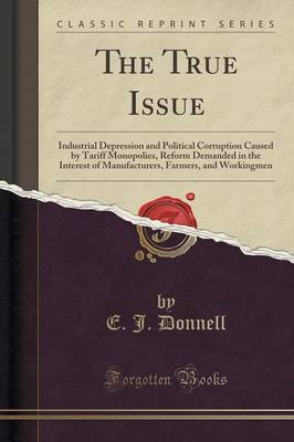 The True Issue by E J Donnell image