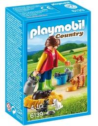 Playmobil: Cat Family Set (6139)