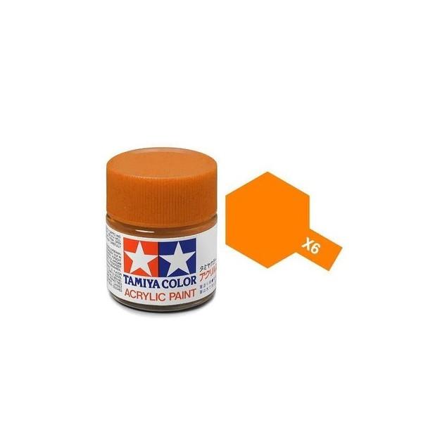Tamiya Acrylic: Orange (X6)