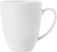 Casa Domani Casual White Coupe Mug 340ML