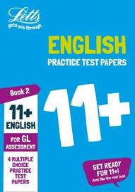 11+ English Practice Test Papers - Multiple-Choice: for the GL Assessment Tests by Letts 11+ image