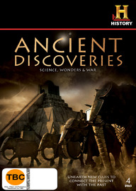 Ancient Discoveries Science, Wonders & War (4 Disc Set) on DVD
