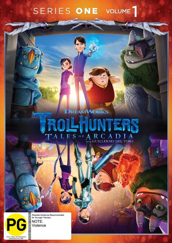 Trollhunters - Series 1: Volume 1 on DVD