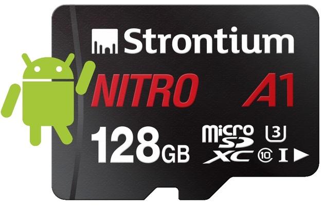 Strontium Nitro A1 Micro SD Card with Adaptor - 128GB