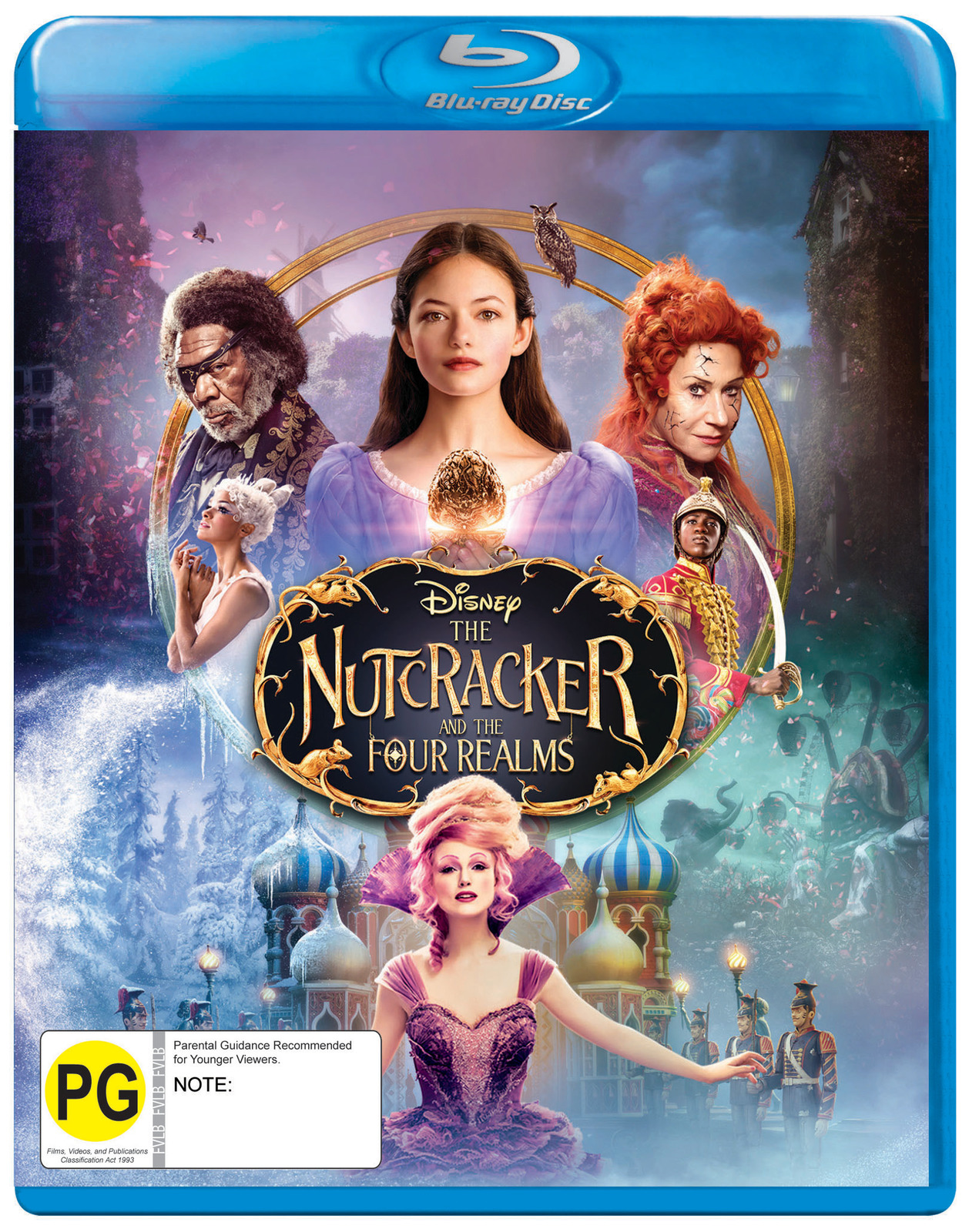 The Nutcracker And The Four Realms on Blu-ray image