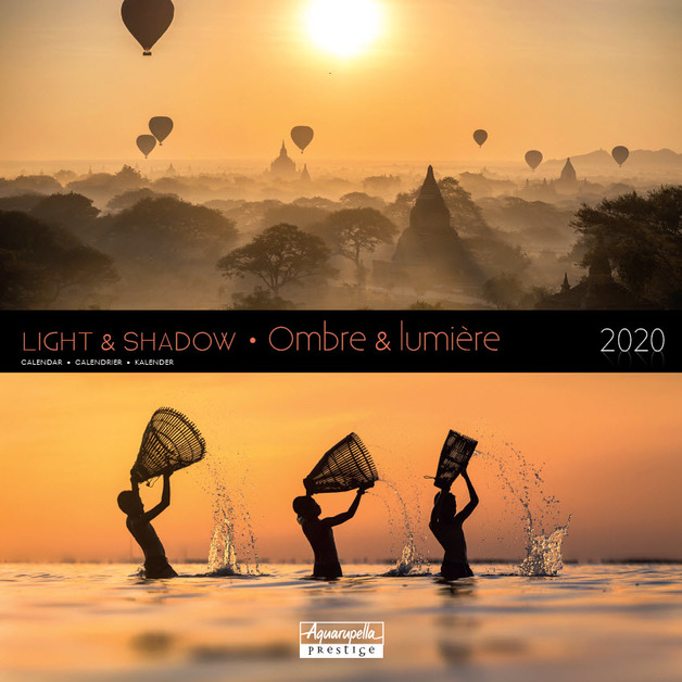 Aquarupella: 2020 Wall Calendar - Light & Shadow