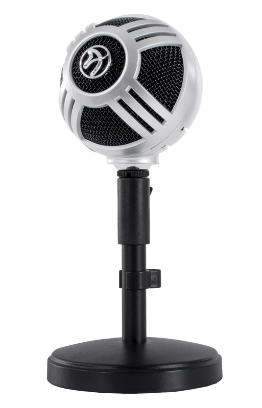 Arozzi Sfera PRO Microphone (Silver) for PC