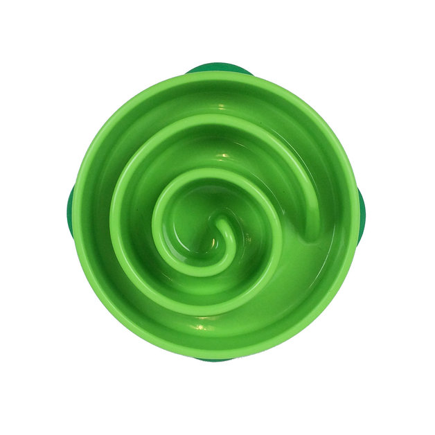Outward Hound: Fun Feeder Green Circle - Mini