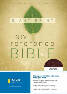 NIV Giant Print Reference Bible image