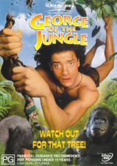 George of the Jungle (1997) on DVD