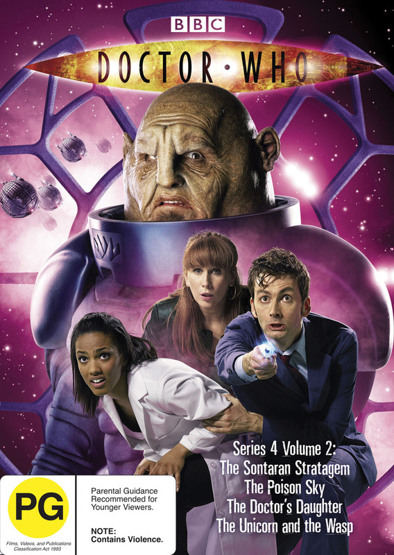 Doctor Who (2008) - Series 4: Vol. 2 on DVD
