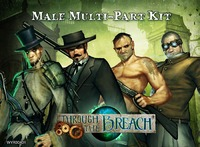 Through The Breach: Male Multi-Pose Figures