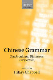 Chinese Grammar by Hilary Chappell image