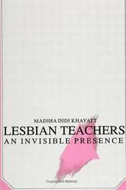 Lesbian Teachers by Madiha Didi Khayatt image