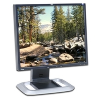 "HP L1965 19"" TFT LCD Display Silver Monitor DVI image"