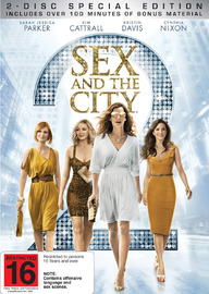 Sex and the City 2: (2 Disc Special Edition) on DVD