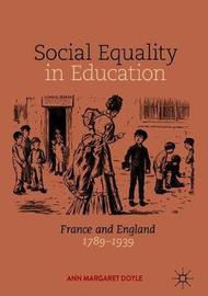 Social Equality in Education by Ann Margaret Doyle image