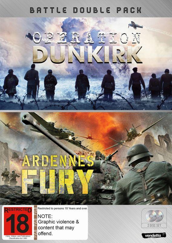 Battle Double: Operation Dunkirk & Ardennes Fury on DVD