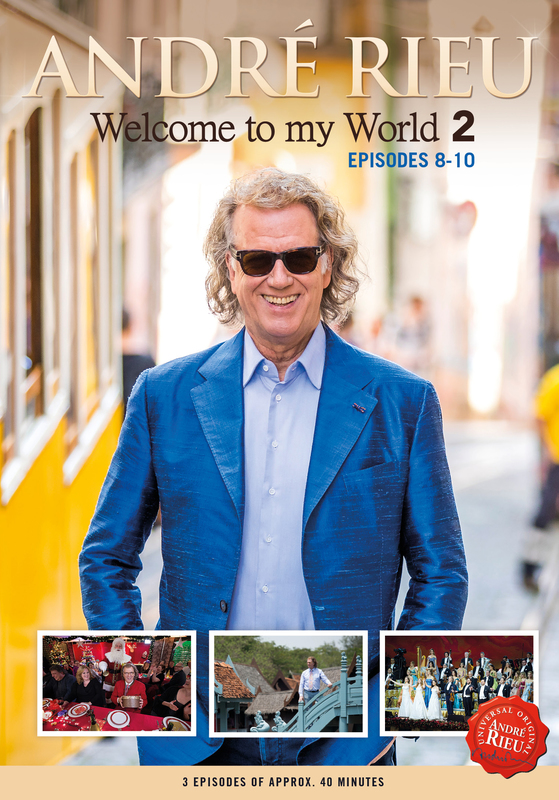 Welcome To My World 2 – Vol 1 Episodes 8-10 on DVD