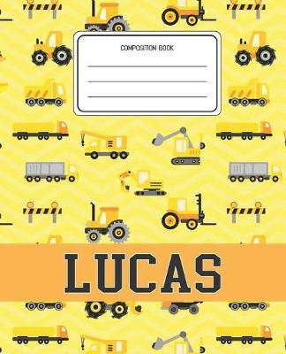 Composition Book Lucas by Construction Composition Books