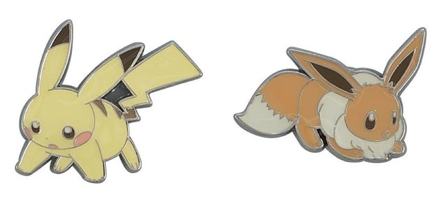Pokemon: Pins Day 2 (Set of 2)