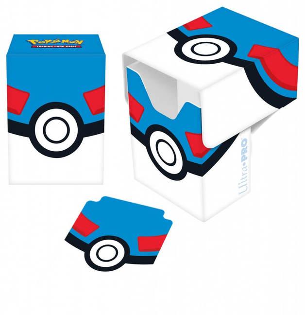 Ultra Pro: Pokémon - Full View Deck Box- Great Ball