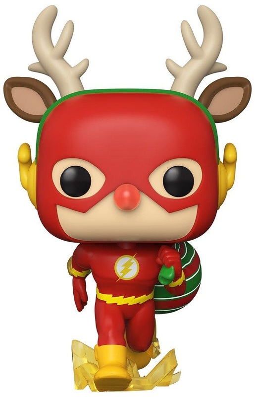 Flash: Flash as Rudolph (Holiday) Pop! Vinyl Figure