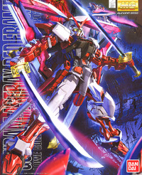 MG 1/100 Gundam Astray Red Frame Custom - Model Kit