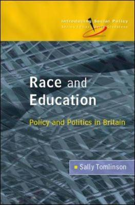 Race and Education by Sally Tomlinson