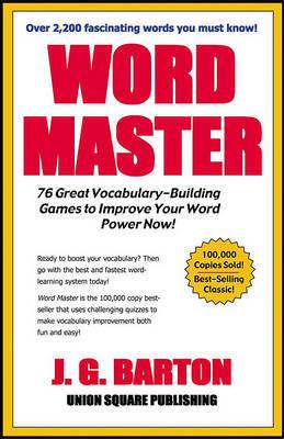 Word Master by J.G /Cardoza Barton