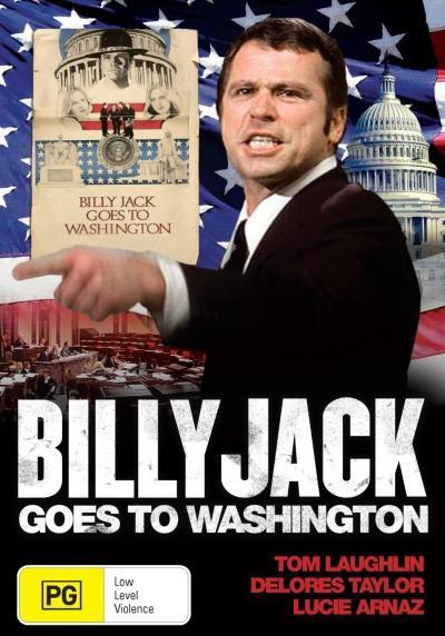 Billy Jack Goes To Washington on DVD